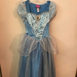 Disney Cinderella Blue Dress - size 3-4